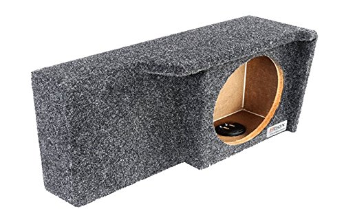 "Bbox A371-10CP Single 10"" Sealed Carpeted Subwoofer Enclosure - Fits 2004-2008 Ford F150 Super Crew/Super Cab"