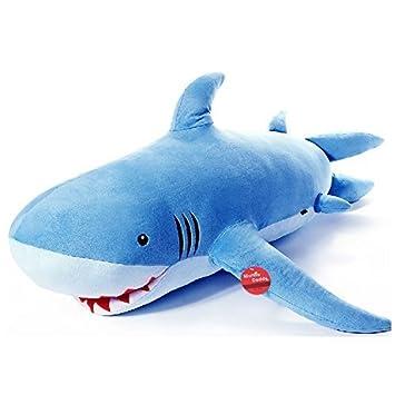 Niuniu Daddy 180cm Giant Shark Plush Super Large Stuffed Animal Toys