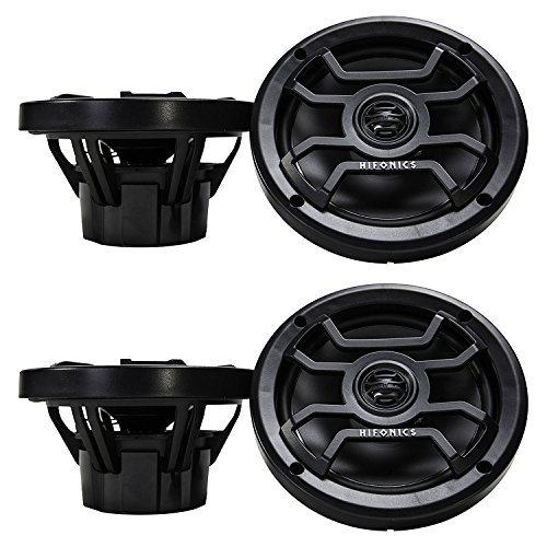 Hifonics Thor 6.5-Inch 120-Watt Coaxial Marine Speaker (2 Pair) 120w Coaxial Speaker