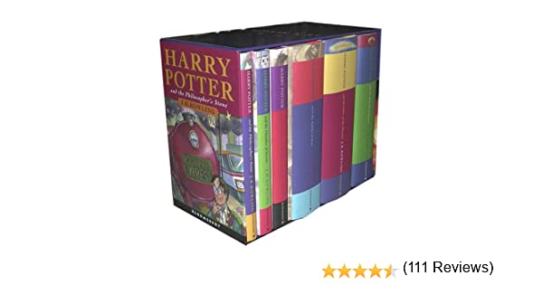 Harry Potter Box Set: Amazon.es: Rowling, J. K.: Libros en idiomas ...