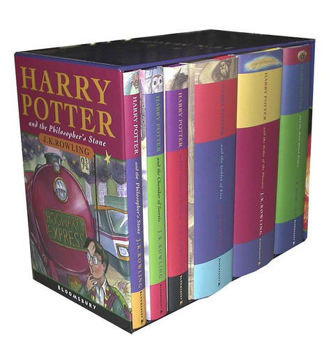 (Harry Potter UK/Bloomsbury Publishing Vol 1-6 Children's Edition Boxed Set (Harry Potter, 1-6))