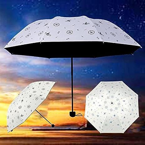 Cebbay-Paraguas Compacto Plegable a Prueba de Viento y Nieve ...