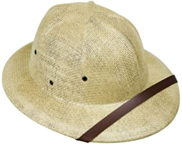 28eb51768fa4c Amazon.com  elope British Safari Pith Costume Helmet for Adults ...