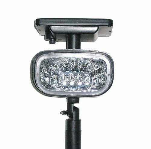 Solar Spot Light Ultra Bright 4 Super Bright LED by SW Closeout
