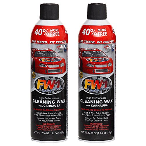 FW1 Cleaning Waterless Wash & Wax with Carnauba Car Wax (2-Pack) (Car Wax Fw1 compare prices)