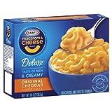 Kraft Deluxe Macaroni & Cheese Original Cheddar 14 oz (Pack of 24) by Kraft