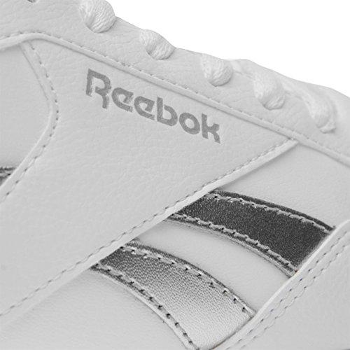 argento Incresparsi Bianco Sportive Da Scarpe Shoes Official Donna Clip Reale Glide Ginnastica Reebok IqWRqpwP