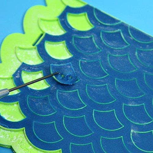 Scalloped Lattice Onlay Mold by Marvelous Molds