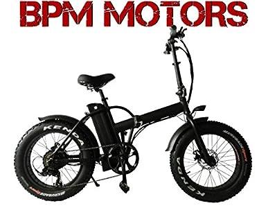 ! Powerful !500watts 48V Fat Tire Electric Bicycle Bike Kenda Tire SAMSUNG Battery