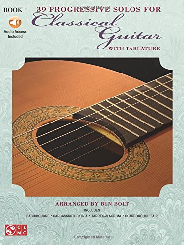 (39 Progressive Solos for Classical Guitar: Book 1 (Thirty-Nine Progressive Solos for Classical Guitar))