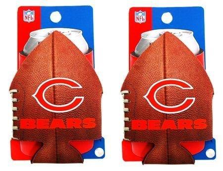 (2) CAN NFL B002ZKGQEC CHICAGO BEARS FOOTBALL CAN COOLIE KOOZIES NEW (2) B002ZKGQEC, イベントアイテムのワンステップ:a47257d4 --- itxassou.fr