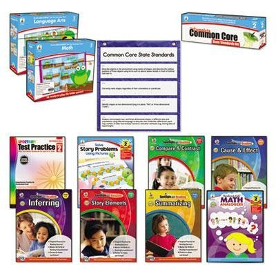 Carson-Dellosa Publishing - Common Core Kit Math/Language Grade 2 ''Product Category: Classroom Teaching & Learning Materials/Reading & Writing Materials'' by Original Equipment Manufacture