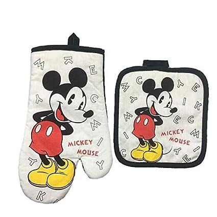 Amazon.com: REBORNS Mickey Mouse - Guante de microondas para ...