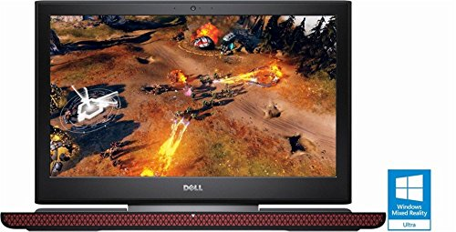 Dell - Inspiron 15.6'' Laptop - Intel Core i5 - 8GB Memory - NVIDIA GeForce GTX 1050 - 1TB + 8GB Hybrid Hard Drive - Black (Certified Refurbished) by Dell