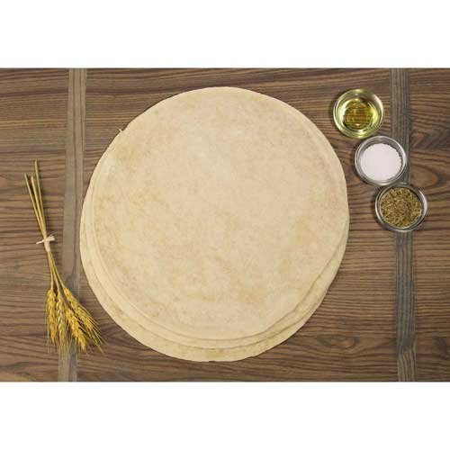 (Ultra Thin Crust Par Baked Round Traditional Pizza Crust, 10 inch -- 30 per case.)