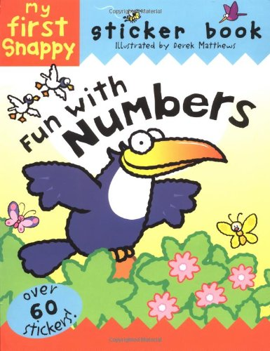 Download Snappy Fun with Numbers: My First Snappy Sticker Book (Snappy Sticker Fun Books) PDF
