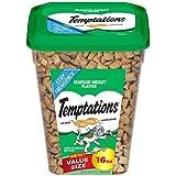 Temptations Cat Treats, Seafood Medley Flavor, 16 Oz. Tub, Makes A Great Holiday Cat Treat