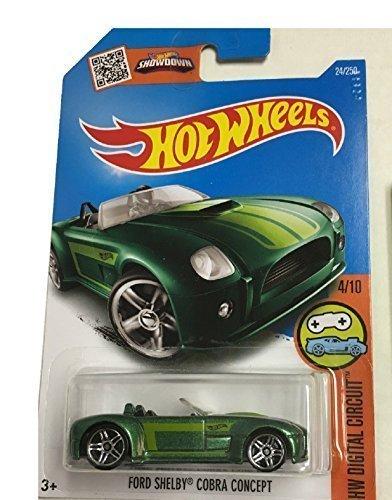 Hot Wheels 2016 HW Digital Circuit Ford Shelby Cobra Concept 24/250, - Cobra Digital