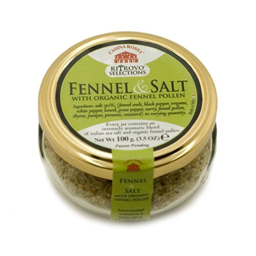 Casina Rossa Fennel & Salt, 3.5 oz. Jar
