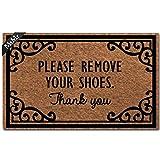 MsMr Doormat Entrance Floor Mat Take Off Shoes Mat Indoor Decorative Home and Office Door Mat 30 by 18 Inch