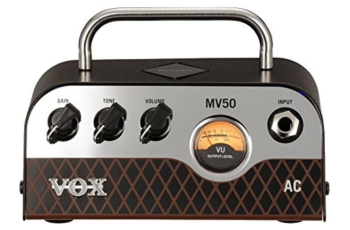 [해외] VOX NUTUBE탑재 기타용 초소형 헤드 앰프 MV50 AC 놀라움의 경량 설계 50W의 대출력 아날로그 회로 자택 연습 스튜디오 스테이지에 최적 운반 전통의 AC30사운드
