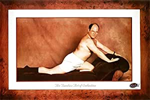 Laminated Seinfeld George The Timeless Art of Seduction TV Poster Print 36 x 24in