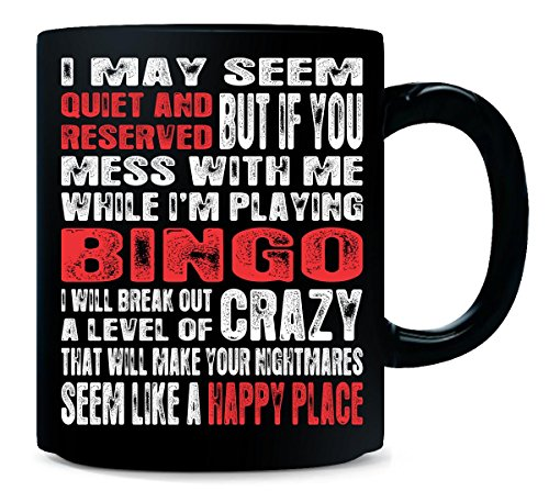 Quiet And Reserved Bingo Happy Place - Mug by AttireOutfit
