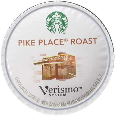 Coffee Pods: Starbucks Verismo Pods