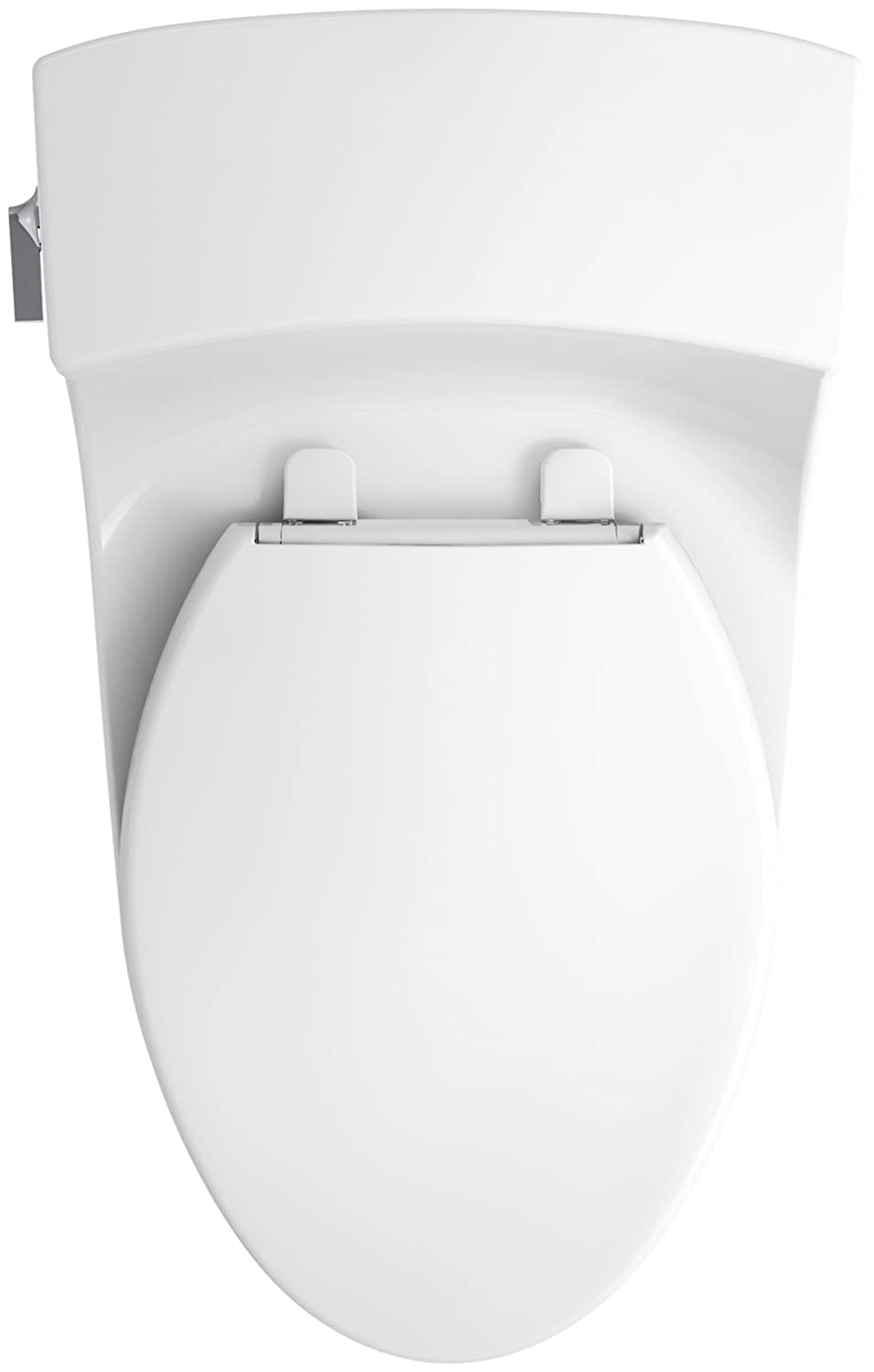 KOHLER K-5172-0 San Souci Comfort Height Compact Elongated 1.28 GPF ...