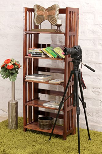 INDUSCRAFT The Tall ONE :: Bookshelf   Open Foldable :: Contempo