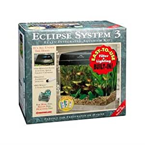Marineland eclipse seamless integrated for Eclipse fish tank
