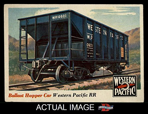 1955 Topps Rails & Sails # 29 Ballast Hopper Car (Card) Dean's Cards 5 - EX 1393371 ()