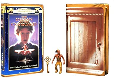 Indian In The Cupboard Gift Set Includes 5 Figurines Vhs Hal Scardino Litefoot Lindsay Crouse Richard Jenkins Rishi Bhat Steve Coogan David Keith Sakina Jaffrey Vincent Kartheiser Nestor Serrano Ryan Olson