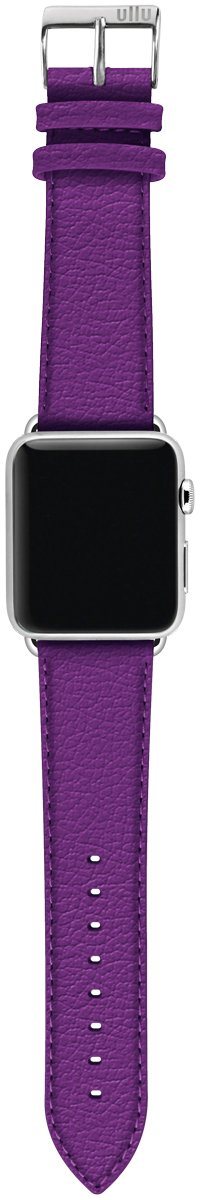 ullu Apple Watch Band for Series 1, 2, 3 & 4 in Premium Leather - Purple Haze - UAWS38SSPL03