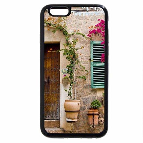 iPhone 6S / iPhone 6 Case (Black) wooden door in majorca