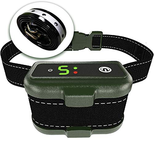 TBI Pro [Newest 2019] Rechargeable Bark Collar - Upgraded Smart Detection Module w/Triple Stop Anti Barking Modes: Beep/Vibration/Shock for Small, Medium, Large Dogs All Breeds - IPx7 Waterproof (Best No Bark Collar For Beagles)