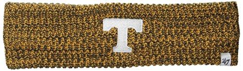 ('47 NCAA Tennessee Volunteers Women's Prima Twisted Headband, Charcoal)