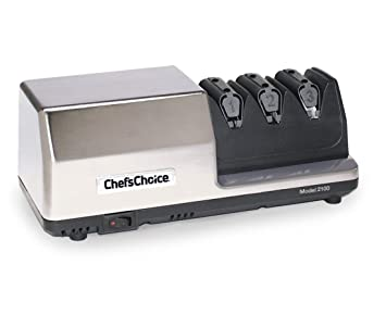 Chef´s Choice 2100 - Afilador eléctrico de lujo