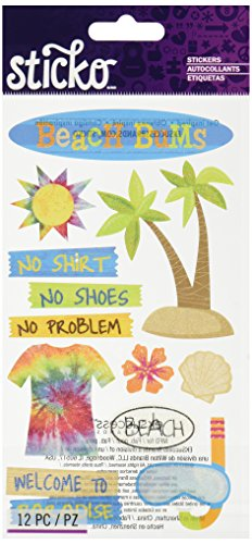 Sticko Beach Bums Stickers ()