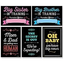 Pregnancy Announcement - Photo Prop Kit - 10 Count