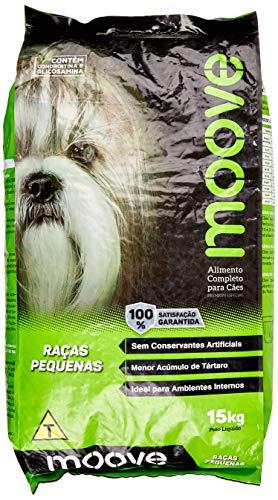 Ração Moove Cães Adultos Raças Pequenas - 15kg
