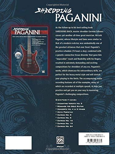 Shredding Paganini Heavy Metal Guitar Meets 9 Masterpieces by Niccolo Paganini