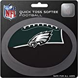 NFL Philadelphia Eagles Kids Quick Toss Softee Football, Green, Small
