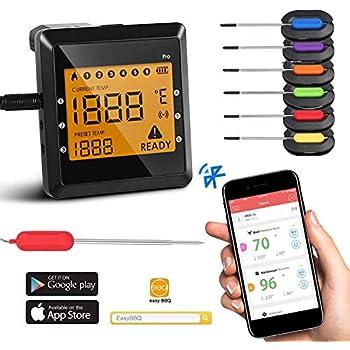 Amazon Com Tenergy Solis Digital Meat Thermometer App