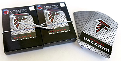 Atlanta Falcons, Playing Cards, Double Deck Set. by Ramsons Imports