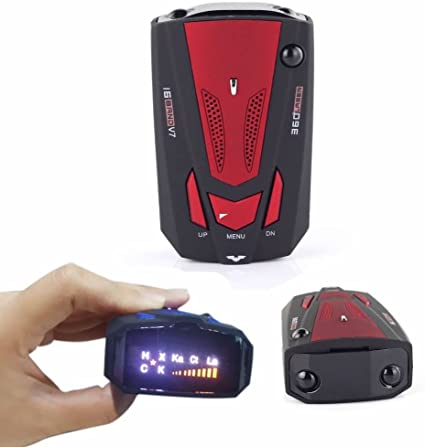 360 Degree LED Car 16 Band V7 GPS Speed Safety Radar Laser Detector Voice Alert