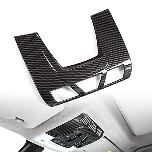 TOOGOO F/ür BMW F48 F15 F16 F30 F34 F45 F46 X1 X2 F47 X5 X6 Kohlefaser ABS Kunststoff Auto Innenraum Vorne Leselicht Abdeckungs Ordnung