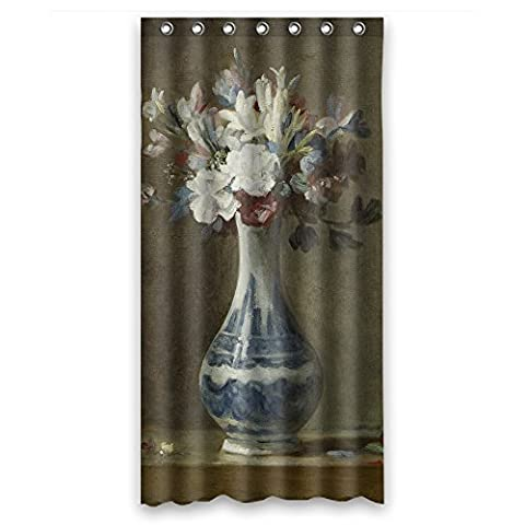 Slimmingpiggy The Famous Classic Art Painting Flowers Blossoms Shower Curtains Of Polyester Width X Height / 36 X 72 Inches / W H 90 By 180 Cm Decoration Gift For Kids Him Boys Father Va