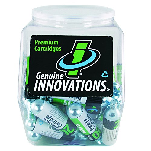 (Genuine Innovations G2134 Threaded CO2 Cartridge, 20 Gram (Clear Tub of 60))