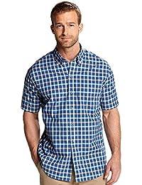 Men's Horizon Plaid Short-Sleeve Shirt